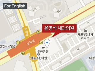 오시는길 지하철3호선, 분당선 도곡역 3번출구 도보 1분